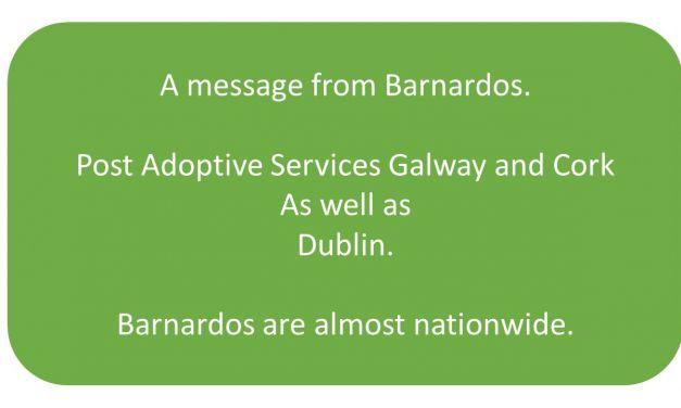 Barnardos – Cork and Galway