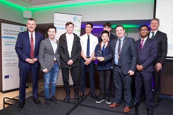 Alex Killilea wins Student Enterprise Award